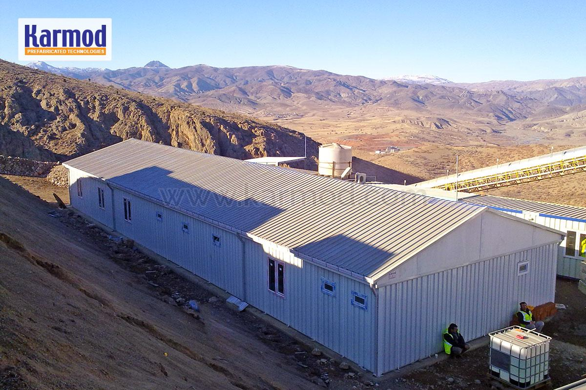 Gold Mine On-Site Accommodation, Office Buildings Turkey