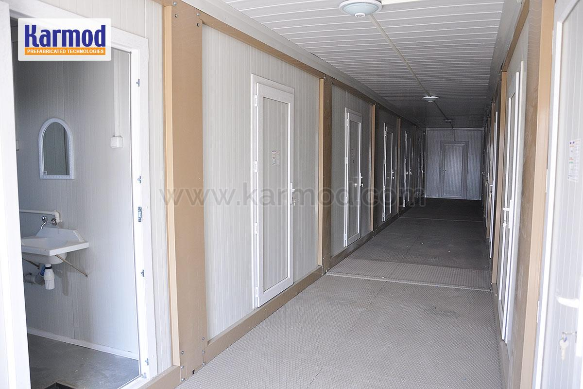 Ataklar Shipping International, Container Office Buildings