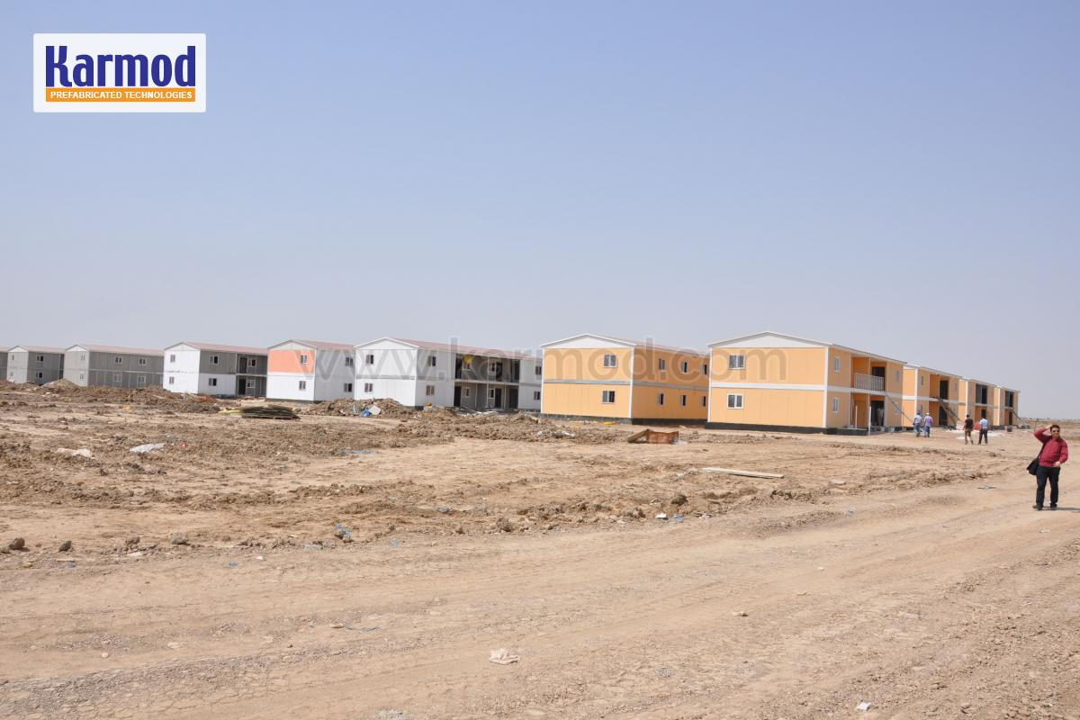 low cost container city iraq