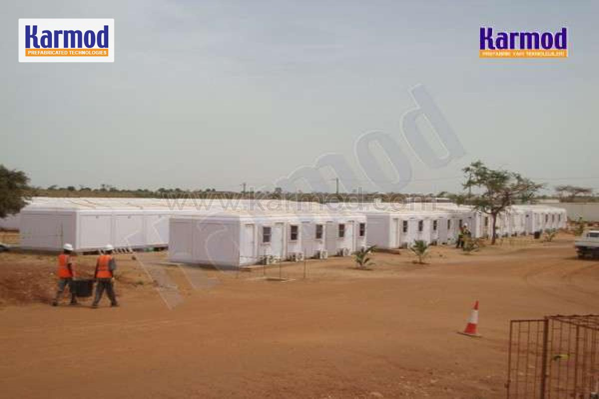 modular portable Workers Accommodation senegal