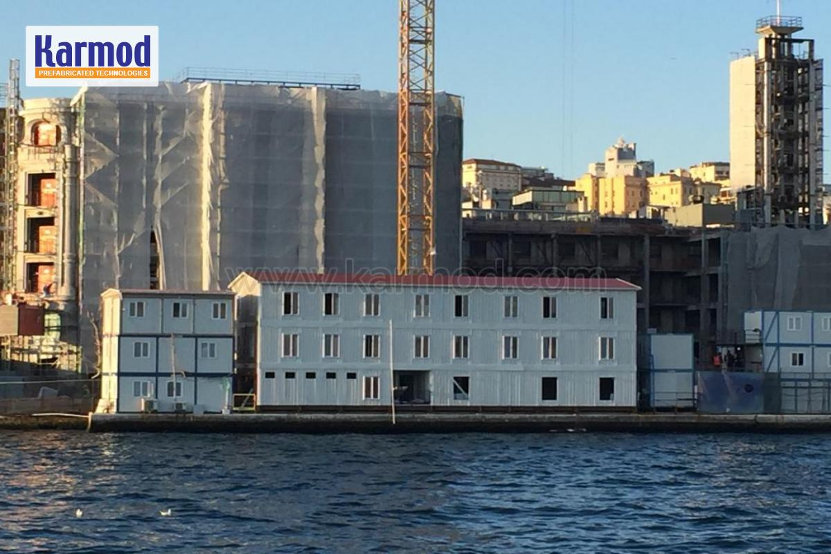 Modular Office Building In Turkey GalataPort Project.