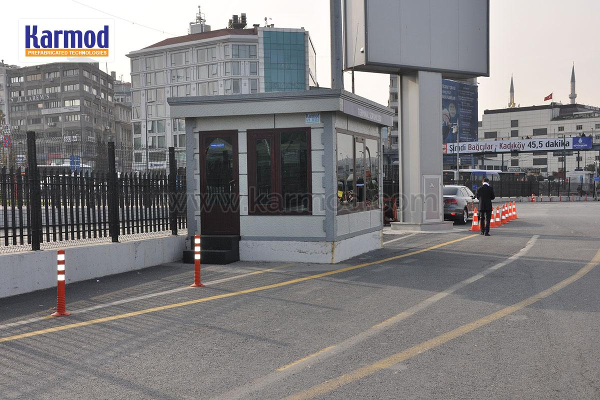 Prefabricated Ticket Booths   Portable Tickets Booth