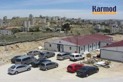 prefabricated buildings palestine