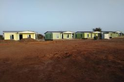 Syria Refugee Camp Buildings