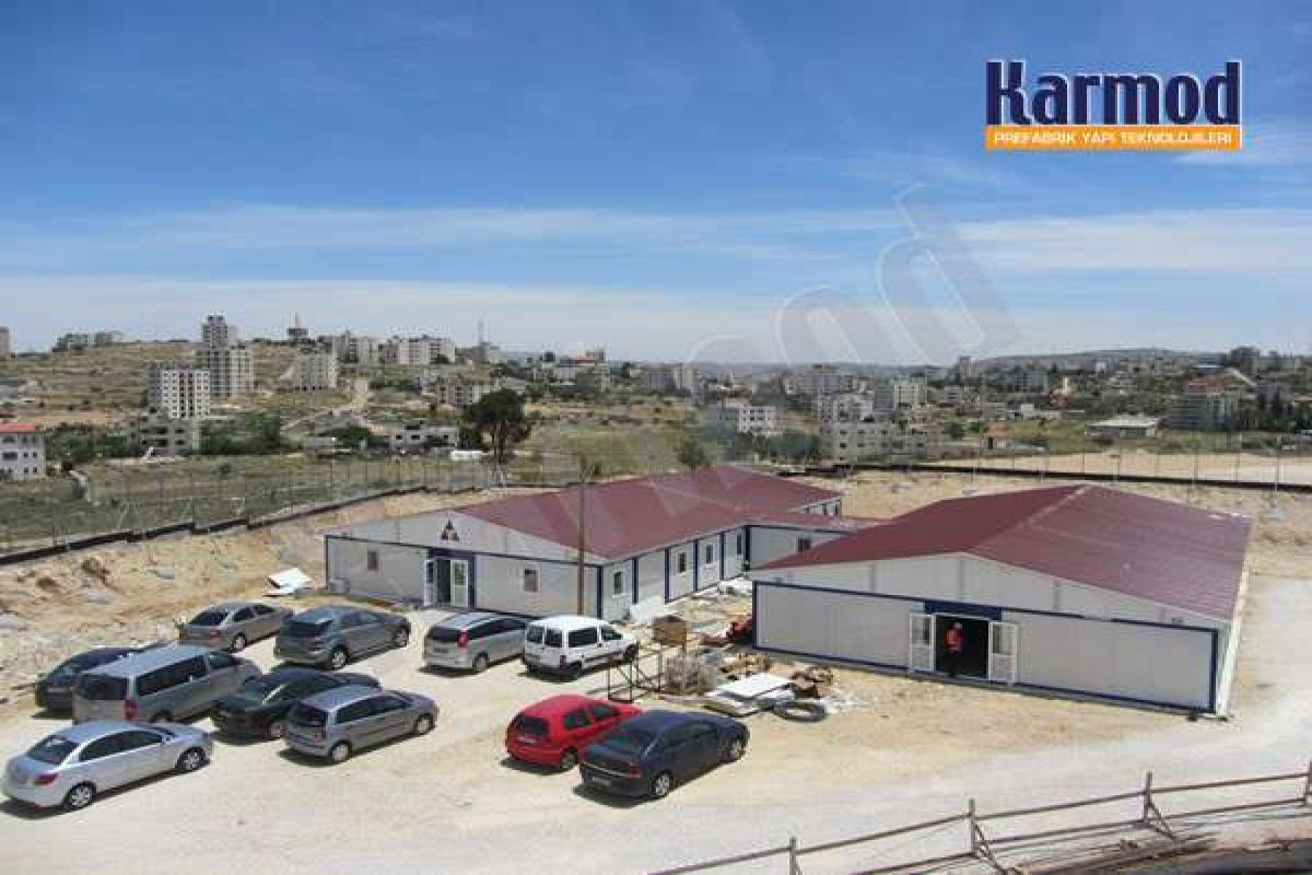 Worksite Buildings for Museum of Palestine-Palestine