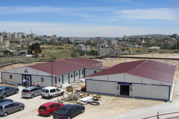 Worksite Buildings for Museum of Palestine