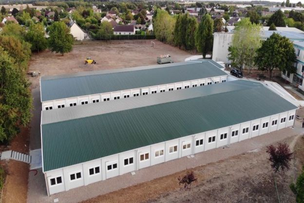 Modular School Project - Amilly, France