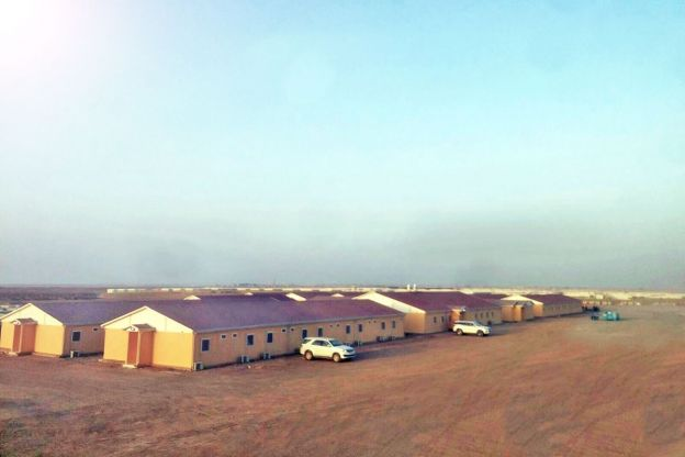 Workers Camp for 1,000 people - Turaif, Saudi Arabia