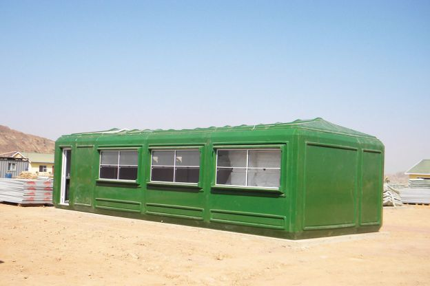 Workers' Camp Cabins for Gold Mine- Bijha Mining, Eritrea