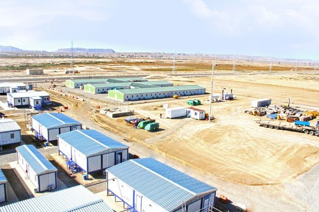 Shahdeniz 2 BP-AZFEN Working Site of Natural Gas Resources- Baku Azerbaijan