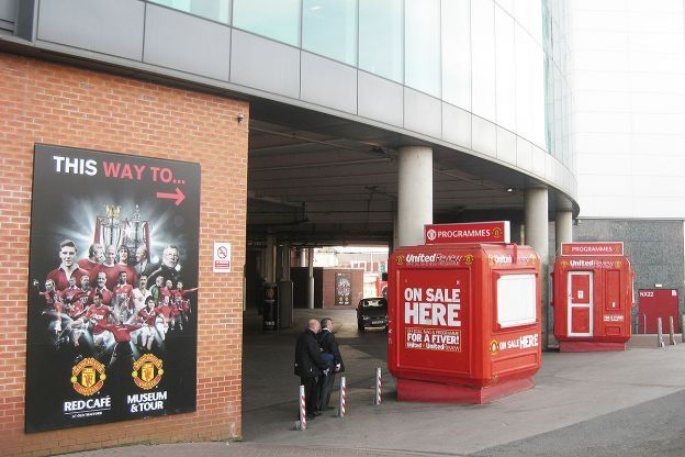 Manchester United, Old Trafford Stad, Manchester, England