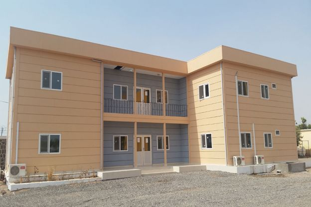 Telecommunication Management Office Building - Djibouti