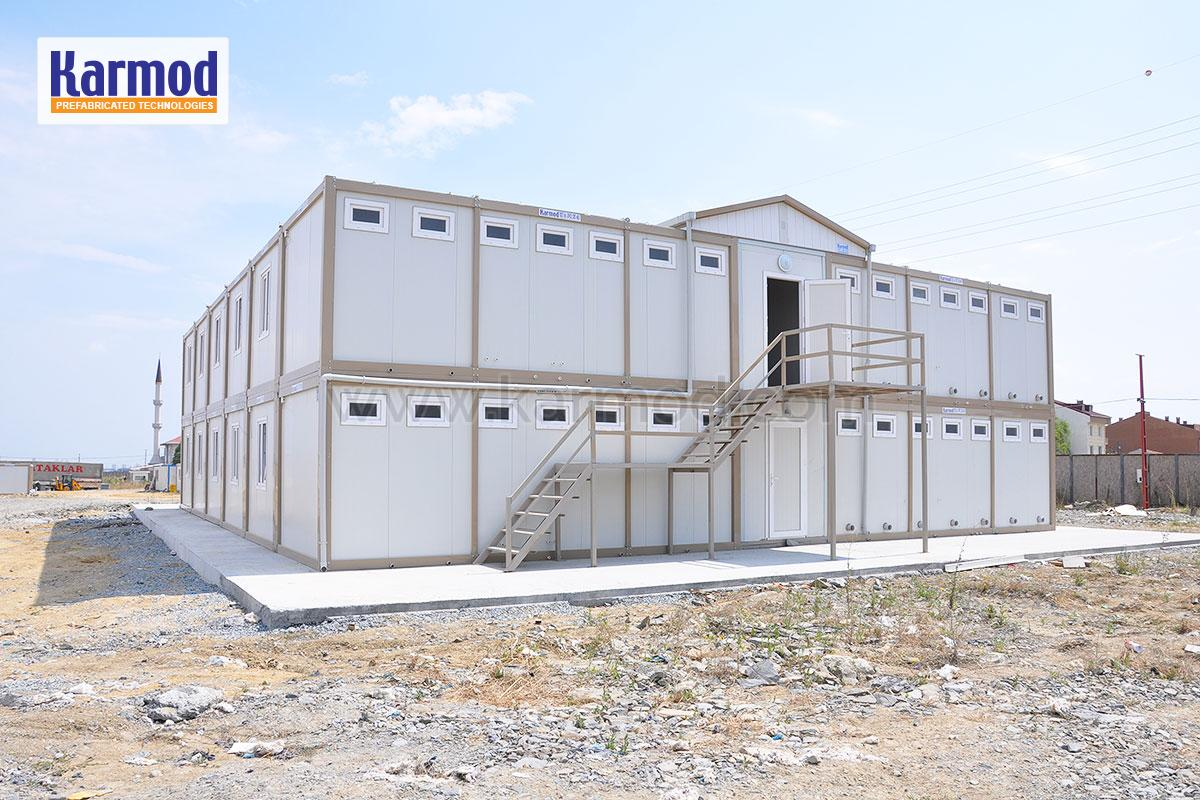 Worksite and office containers modular portable for Structure container maritime