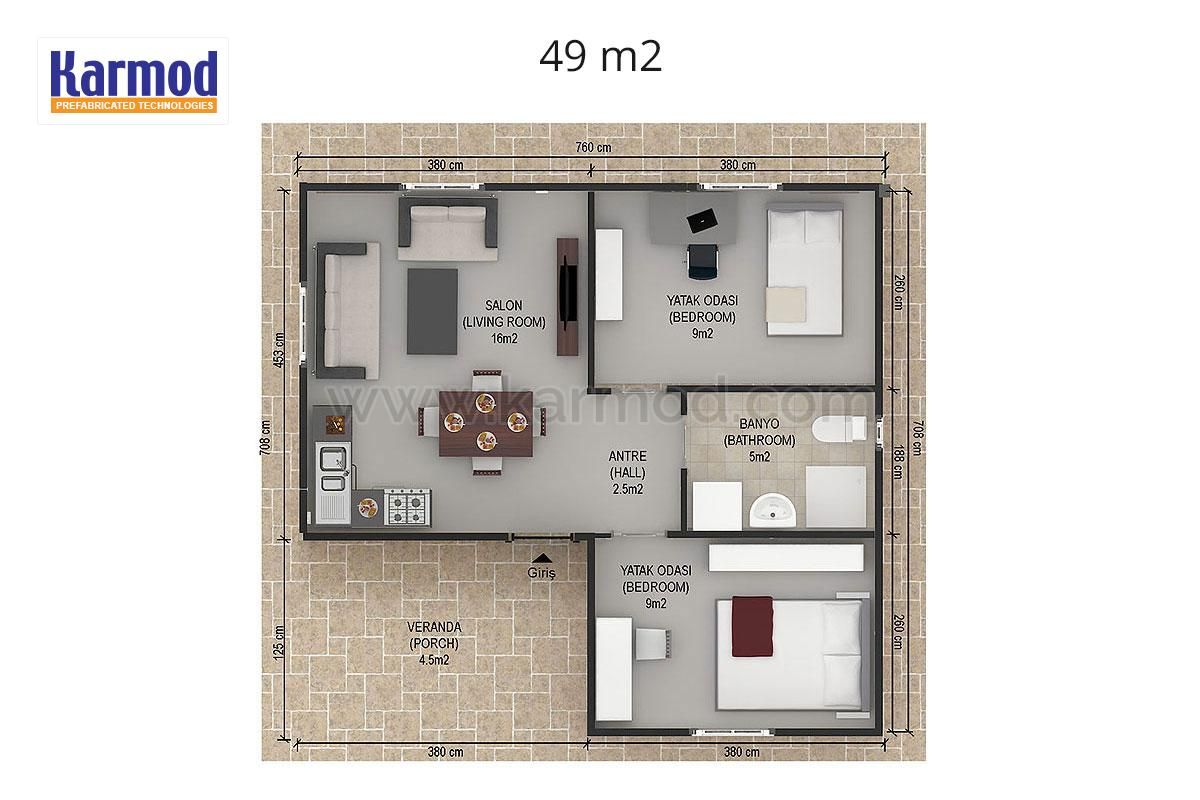 Single Storied Home Plans