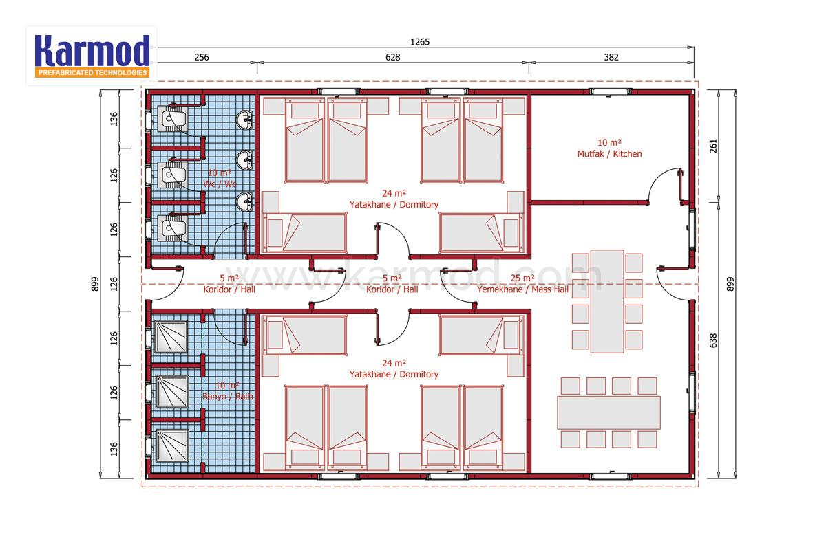 Dorm buildings plans for Building planner