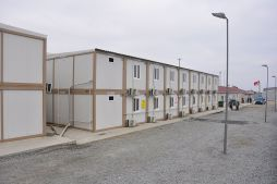 Construction site dormitory