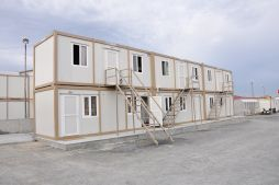 container flat packs camps