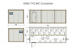 containerised toilets