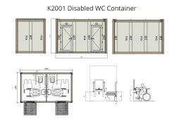 disabled wc container