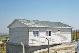 low cost family prefabricated houses