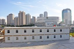 Modular buildings for construction sites