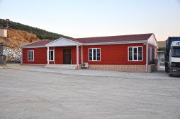 prefab office labour camps