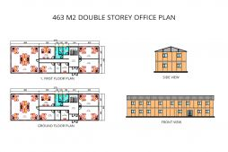 Prefabricated Office plans
