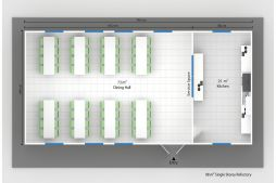 Prefabricated Refectory Plans