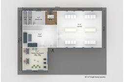 Prefabricated Social Facility Plans