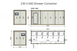 site sanitary containers toilet