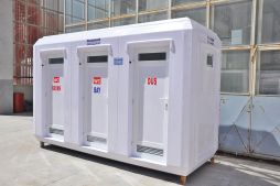 Temporary Toilet Cabins