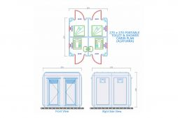 Toilets and Showers Plans