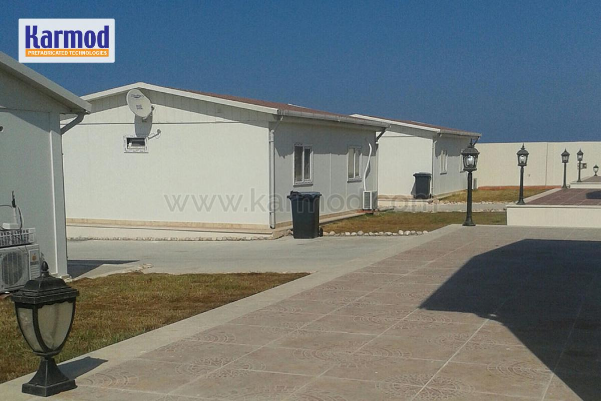 We have implemented an economic mass housing project in Libya