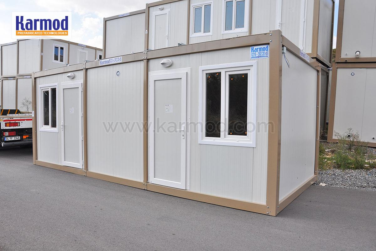 Portable Shelters Containers : Refugee container shelters portable