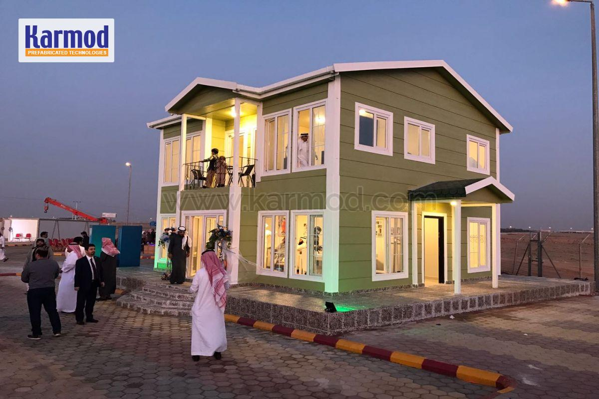 Saudi Prefabricated Houses Factory Low Cost Housing