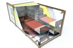 Refugee container shelters | Portable container shelters | Camps for refugees