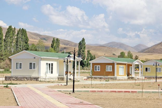 Prefabricated houses in Iraq Baghdad